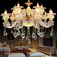 星光灯饰水晶灯客厅餐厅卧室灯酒店大堂工程别墅复式楼欧美吊灯