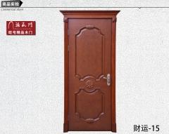 禧赢门 实木烤漆室内门 家庭卧室门 欧式造型门 木门 财运-15