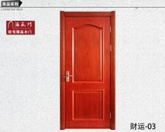 禧赢门木门经典简约欧式门卧室门外扣线室内实木门烤漆门财运-03