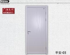 禧赢门品牌木门室内门卧室门实木复合门套装门白色油漆门平安-03