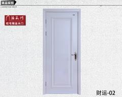 禧赢门简欧实木室内套装门烤漆门隔音门复合门厂家直销财运-02