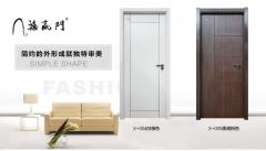 禧赢门吉祥-11热卖简约白色木门免漆门 室内套装门实木复合卧室门
