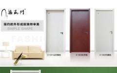 禧赢门 现代简约免漆门 卧室门 室内门房门实木复合套装木门X-001