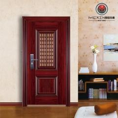 美心元素防盗门进户门别墅门钢质门 门中门 单扇 门厚90 8037