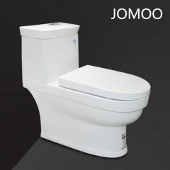 九牧卫浴马桶 卫生间坐便器节水防臭家用喷射虹吸式座便器11190-2